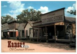 Bulk Lot Of 1000 Old Cowtown Museum Wichita Ks Postcards - New And Unused