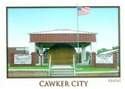 Bulk Lot Of 1000 World's Largest Ball Of Twine Cawker City, Ks Postcards