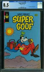 Super Goof Whitman 1965 62 Cgc 8.5 Distributed In Multi-packs Only Scarce