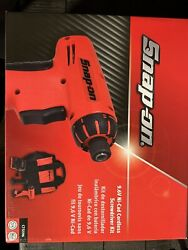 Snap-on Cts596 1/4 Cordless 9.6v Screwdriver Kit W/ 2 Battery, Charger, Bag