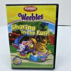 Playskool Weebles Sharing In Fun Weeble Wobble But They Don't Fall Dvd, 2005