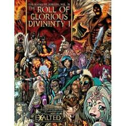 White Wolf Exalted 2nd  Books Of Sorcery 4 - The Roll Of Glorious Divinit Nm