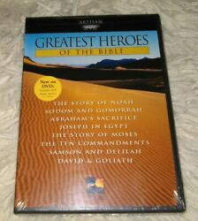 Greatest Heroes Of The Biblecollection Dvd, 2000, 2-disc Set New Sealed