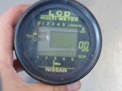 Nissan Outboard Lcd Marine Meter Tach Tachometer Digital With Harness