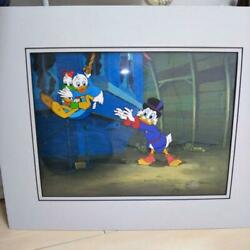 Art Original Picture Cel Disney Duck Tails 1980s Limited Only One Very Rare