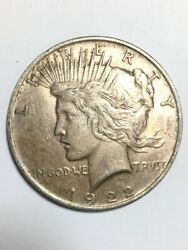 1922 Peace One Dollar 1 United States Coin Ap1085879