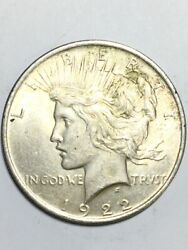 1922 Peace One Dollar 1 United States Coin Ap1085881