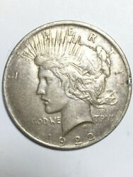 1922 Peace One Dollar 1 United States Coin Ap1085880