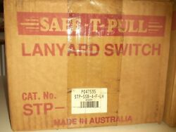 Safe-t-pull Stp-ssb-4-f-lh Emergency Stop Lanyard Switch Trip Pull Wire 315 Ss