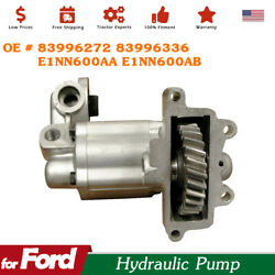 Hydraulic Pump For Ford Fit New Holland Tractor - 83996272 E1nn600ab