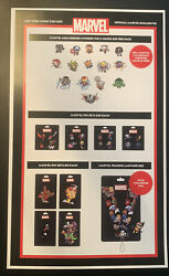 Nycc 2021 Comic Con Sell Sheet And Marvel Skottie Young Pin Checklist