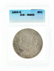 1890-o Morgan Dollar Icg Ms65 1 New Orleans Minted Silver Coin
