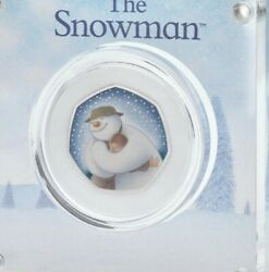 New 2020 Snowman Silver Proof 50p Christmas Coin Preorder Low Issue Lep 7,000