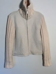 Paul And Shark Yachting S Ivory Wool Cardigan Sweater Jacket