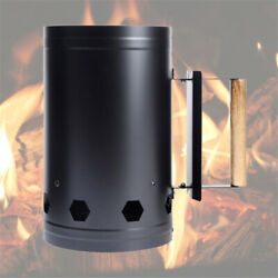 Fast Fire Starter Bucket Carbon Ignition Barrel Bbq Stove Rack Tools For Outdoor