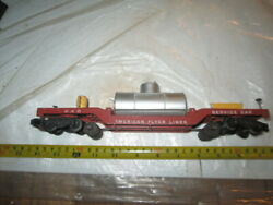 S Scale American Flyer 948 Track Cleaning Car.