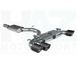 Scorpion 3.15 Resonated Gpf Back Valved Exhaust + Carbon Tips Audi S3 8y Hatch