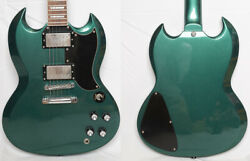 Grass Roots By Esp G-sg-55 Metallic Green 2014 Make Color Good Condition
