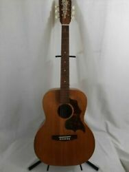 Vintage Guitar Rare Well Loved Old Craftsman Acoustic With Case
