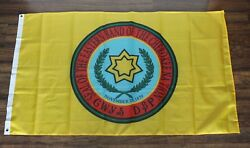 Cherokee Nation Banner Flag Eastern Band Of The Native American Indian Yellow