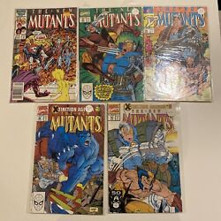 The New Mutants Lot Issues 46 93 94 96 And 97 High Grades