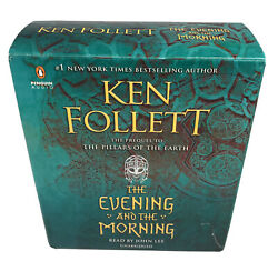 Evening and the Morning by Ken Follett Audio Discs Like New Book Free Shipping $37.50