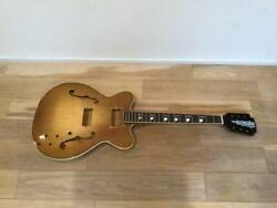 Old Craftsman Kay Jazz Ii 60and039s Vintage Body Only Semi Acoustic Electric Guitar
