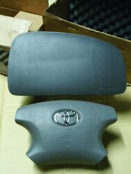 Toyota Highlander Airbags Both Driver Passenger Air Bags Charcoal Gray 03 02 01