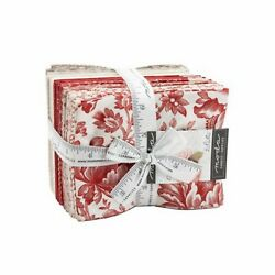 Cranberries And Cream Fat Quarter Bundle Of 34-18x21/22 By Three Sisters/moda
