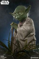 Sideshow Collectibles Star Wars Yoda - Life Size Figure New