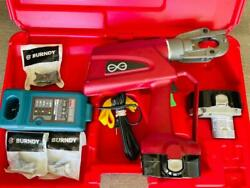 Burndy Pat600-18v Hydraulic Battery Operated Crimper Patriot Crimping Tool New