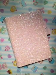 A5 Notebook Cover Hobonichi Cousin Size Pink Lame $72.13