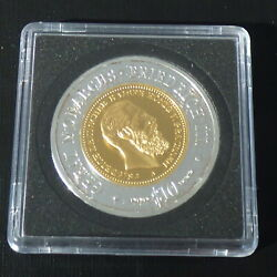 3 Namibia 10 2009 Silver 99.9 Gilded 20 G