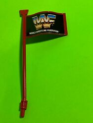 Wwf Hasbro King Of The Ring Red Flag Accessory Part Wrestling Figure Wwe