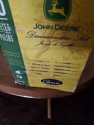 Vintage John Deere Service For 4 - Place Settings - 16 Pieces, Dishes, Cups, Etc