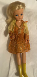 Sindy Doll With Twist N Turn Waist Redressed In Vintage Clone Clothes