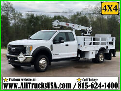 2017 Ford F550 4x4 6.7 Diesel 7500 Lb Imt Crane Propane And Lp Gas Service Truck