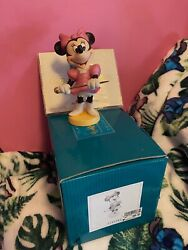 Wdcc Minnie Mouse Join The Parade Figure Mickey Mouse Club.
