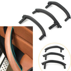 3pc/set Abs Inner Interior Door Pull Handle Trim Cover For Bmw X5 X6 F15 F16