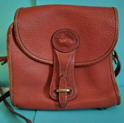 Vintage brown Dooney and Bourke purse ALL WEATHER LEATHER $35.00