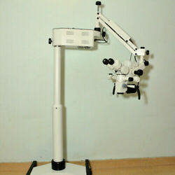 5 Step Dental Microscope - Motorized - With Accessories And Free Expedit Shipp