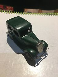 Awesome Vintage Tri-ang Minic Toys Wind Up Tin 1930s / 1940s Ford Car, Rare