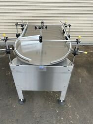 Epak 24 Stainless Rotary Accumulation Feed Pack Table