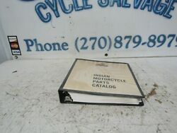 1999-2001 Indian Motorcycle Parts Catalog 98-059 All 98-059