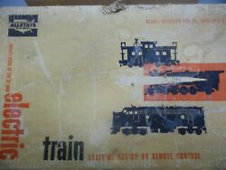 Allstate Train Set 9625 By Sears And Marx 666 Steam Engine W/tender And Cars Track