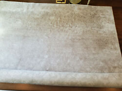 Brand New Never Used Ben Soleimani 8x10 Silver Rug From Restoration Hardware