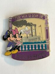 Disney Auction P.i.n.s Mickey Minnie Mouse Mississippi Le500 Disney Pin A6