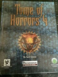 Tome Of Horrors 4 Hardcover Pathfinder First Edition Frog God Games