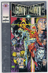 Hot Rare Valiantand039s Deathmate Prologue A Love To End All Time Sept. 1993.
