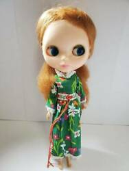 Vintage Blythe Redhead 7 Digits Eyelashes Doll Figure Shipped From Japan